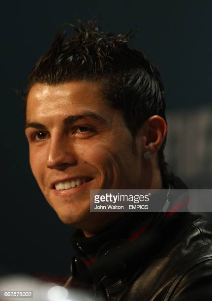 Manchester United's Cristiano Ronaldo at the FIFA World Player Gala