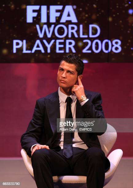 Manchester United's Cristiano Ronaldo at the FIFA World Player Gala 2008