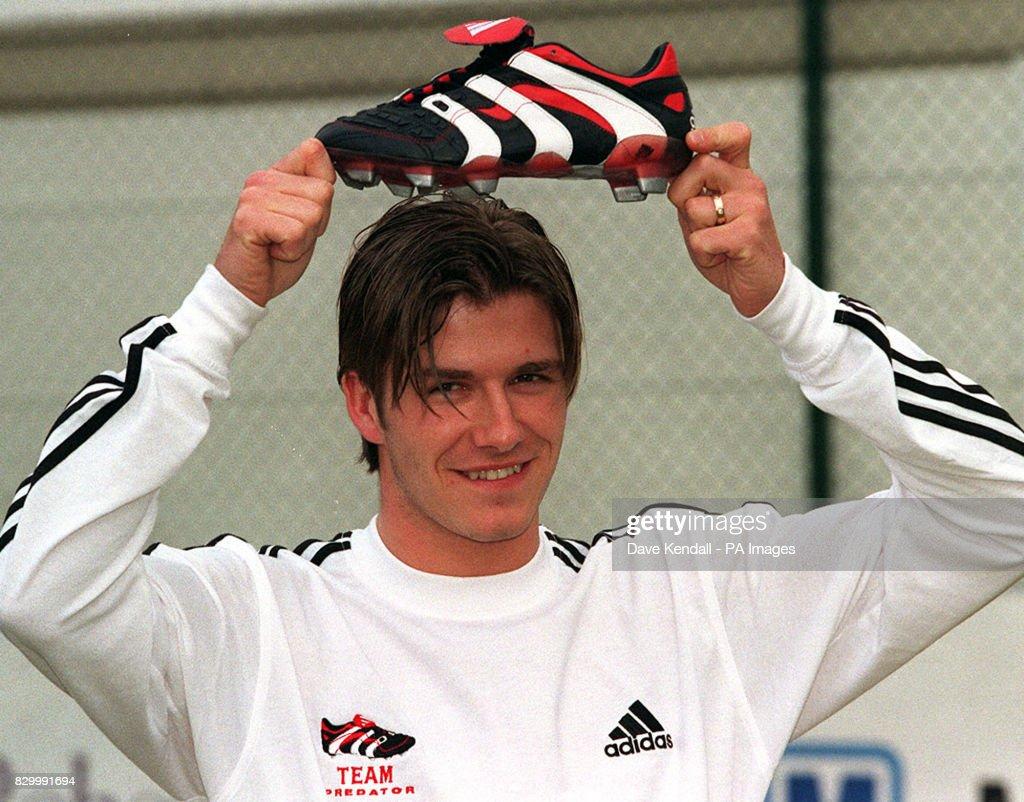 David Beckham launches Adidas 'Predator' : News Photo