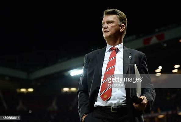 Manchester United's Dutch Manager Louis Van Gaal Arrives