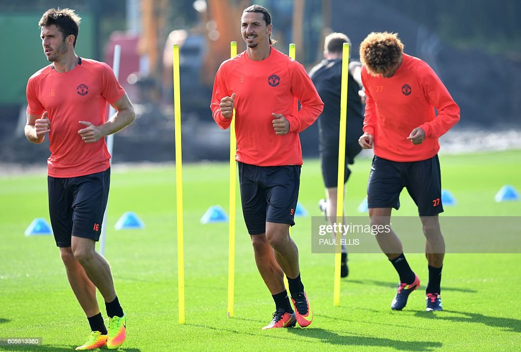 FBL-ENG-C3-MAN UTD-TRAINING : News Photo