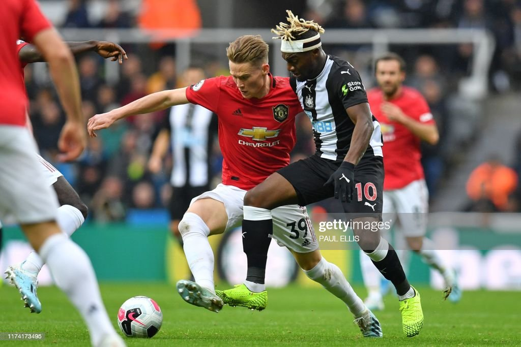 FBL-ENG-PR-NEWCASTLE-MAN UTD : News Photo