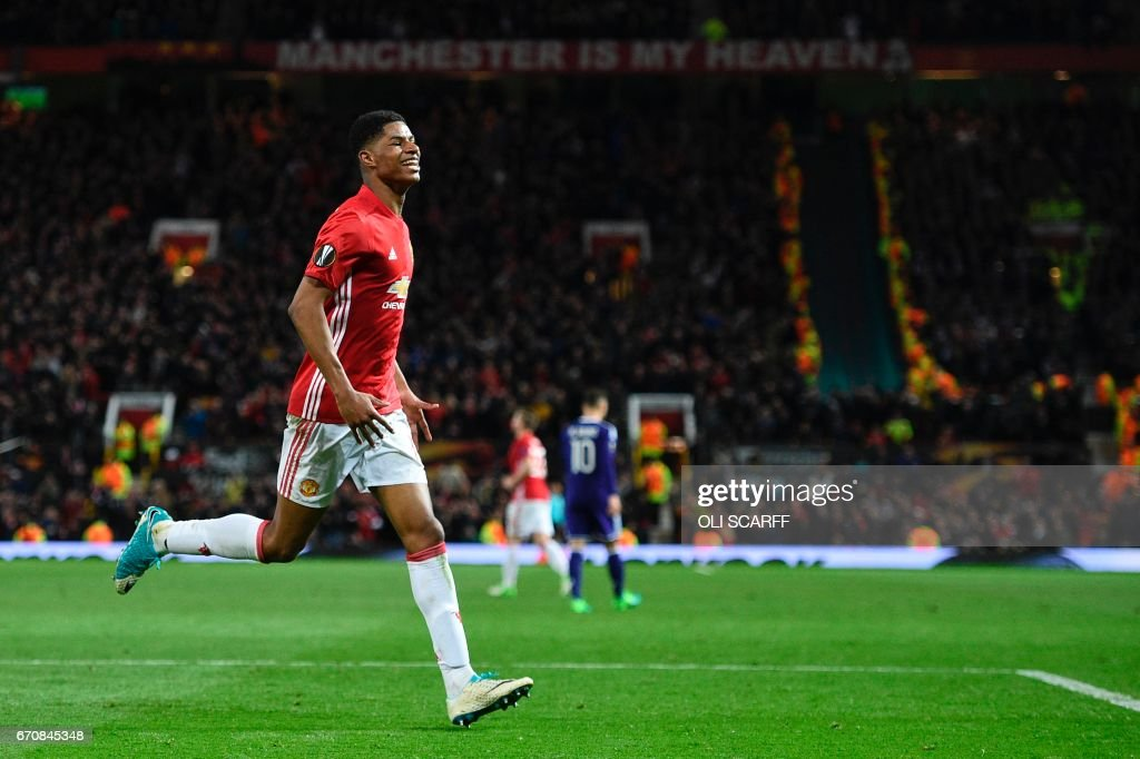 FBL-EUR-C3-MAN UTD-ANDERLECHT : News Photo