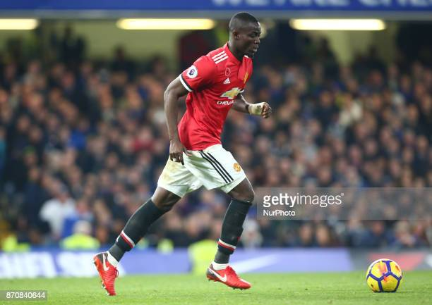 Manchester United's Eric Bailly during the Premier League match between Chelsea and Manchester United at Stamford Bridge London England on 05 Nov 2017
