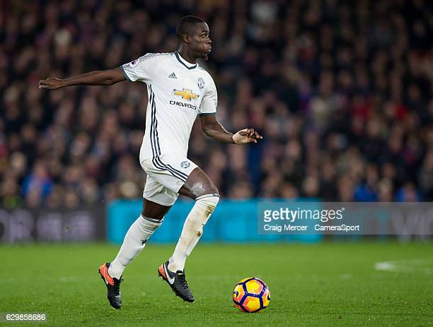 Manchester United's Eric Bailly in action during the Premier League match between Crystal Palace and Manchester United at Selhurst Park on December...