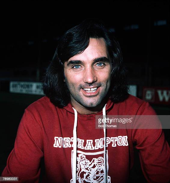 Football Manchester United's George Best pictured wearing a Northampton Town shirt Best set a record by scoring 6 goals against Northampton in an FA...