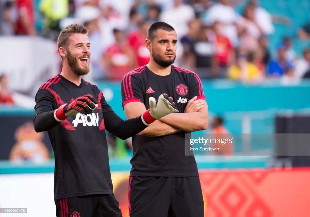 SOCCER: JUL 31 International Champions Cup - Manchester United FC v Real Madrid CF : News Photo