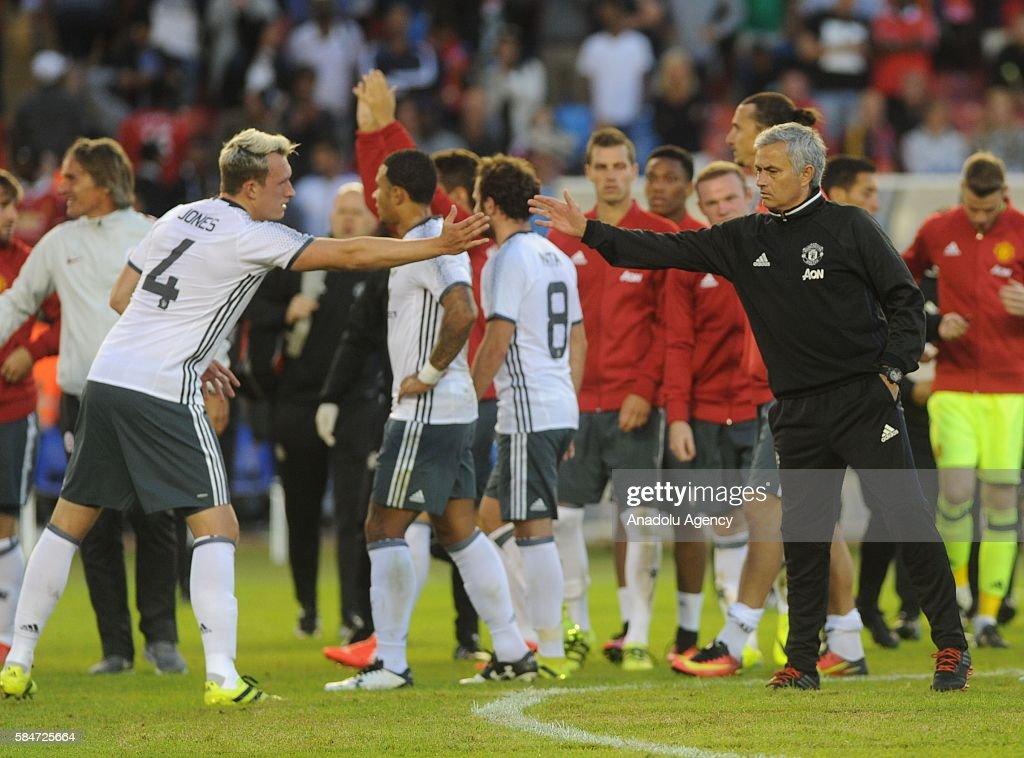 Galatasaray vs Manchester United - Friendly Match  : News Photo