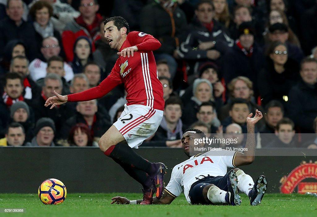Manchester United v Tottenham Hotspur - Premier League - Old Trafford : News Photo