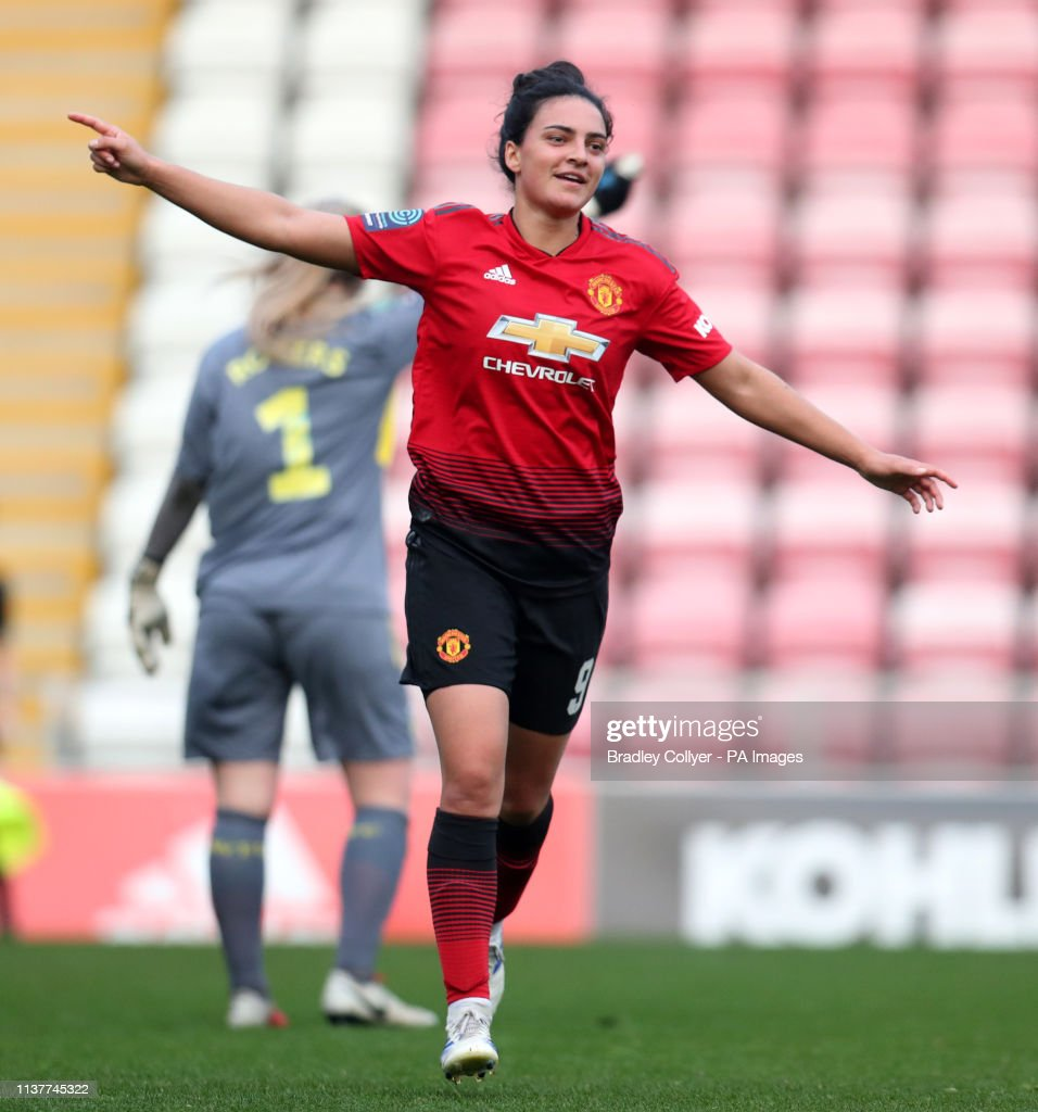 64b1b337a Manchester United Women v Aston Villa Ladies - FA Women s Championship -  Leigh Sports Village
