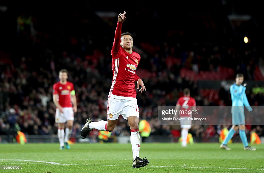 Manchester United v Feyenoord - UEFA Europa League - Group A - Old Trafford : News Photo
