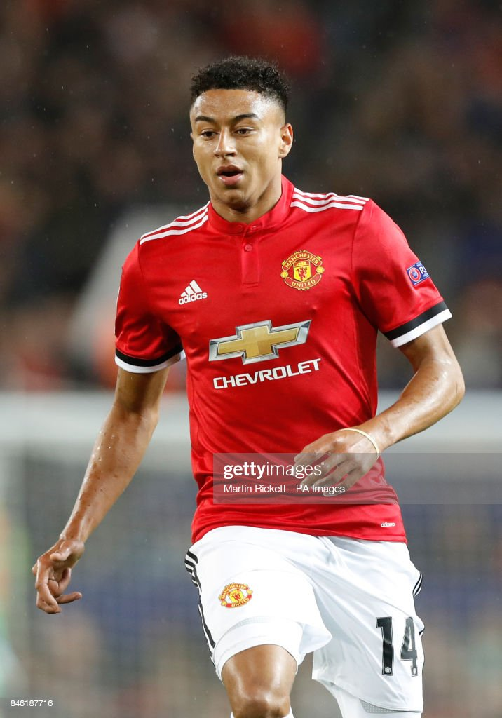 Manchester United's Jesse Lingard during the UEFA Champions League, Group A match at Old Trafford, Manchester. PRESS ASSOCIATION Photo. Picture date: Tuesday September 12, 2017. See PA story SOCCER Man Utd. Photo credit should read: Martin Rickett/PA Wire