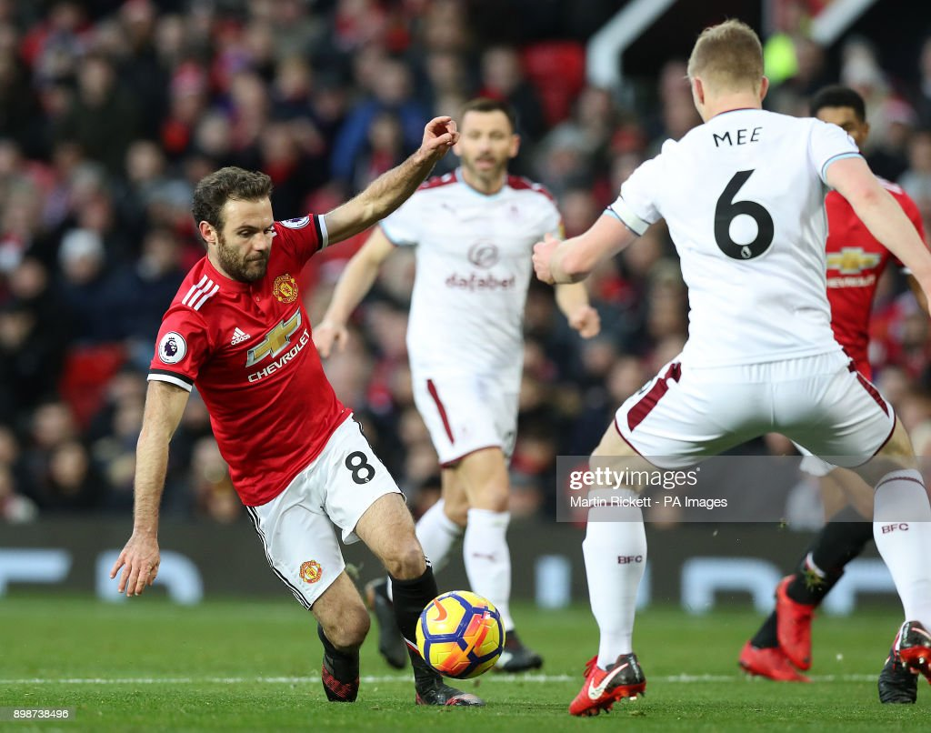 Manchester United v Burnley - Premier League - Old Trafford : News Photo