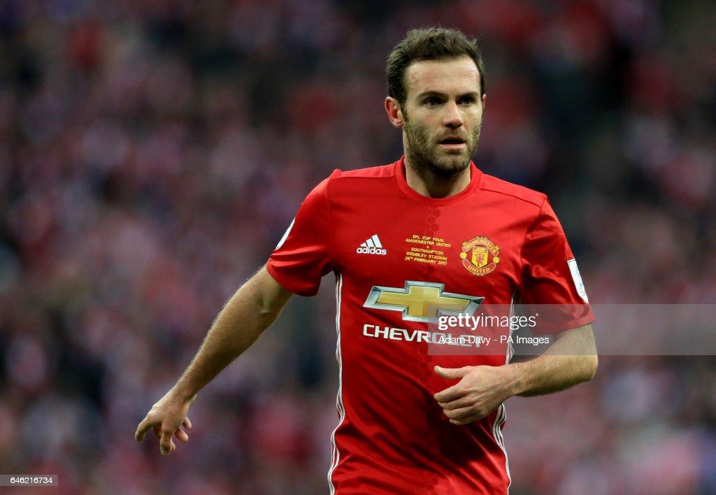 Manchester United v Southampton - EFL Cup - Final - Wembley Stadium : News Photo