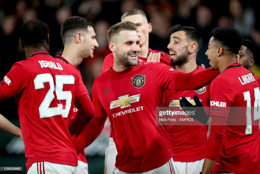 Derby County v Manchester United - FA Cup - Fifth Round - Pride Park : News Photo
