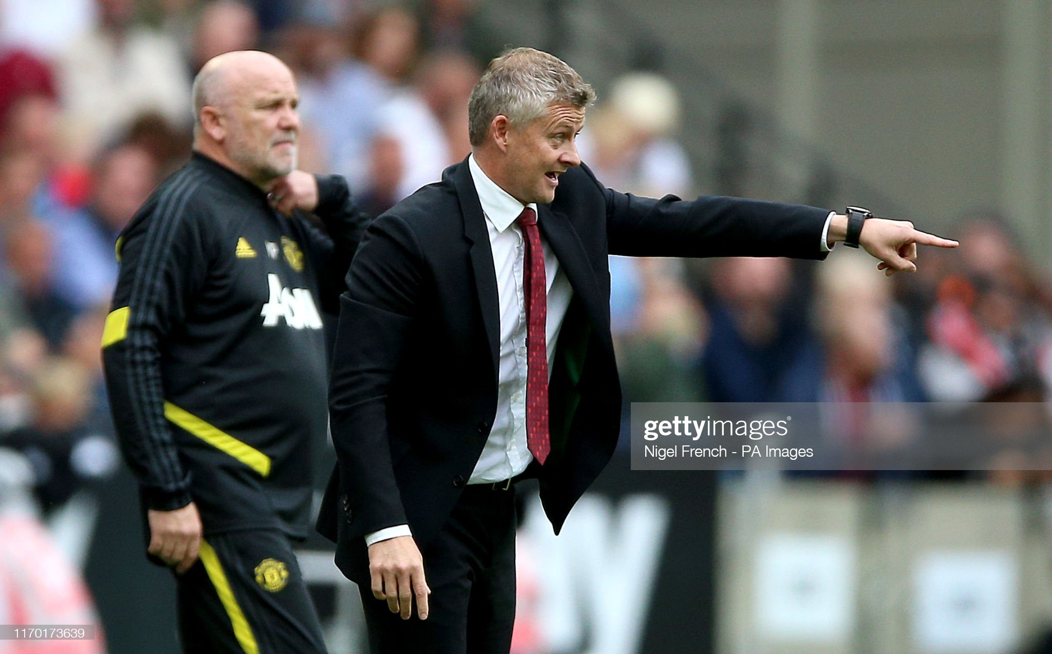 West Ham United v Manchester United - Premier League - London Stadium : News Photo