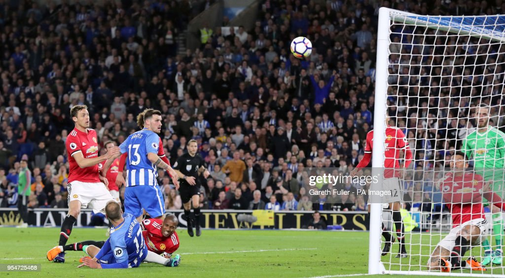 Brighton & Hove Albion v Manchester United - Premier League - AMEX Stadium : News Photo
