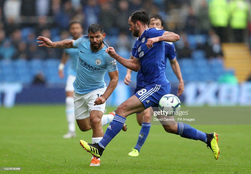 Cardiff City v Manchester City - Premier League - Cardiff City Stadium : News Photo