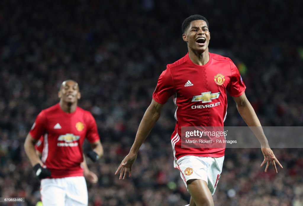 Manchester United v RSC Anderlecht - UEFA Europa League - Quarter Final - Second Leg - Old Trafford : News Photo