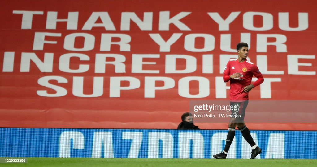 Manchester United v RB Leipzig - UEFA Champions League - Group H - Old Trafford : News Photo