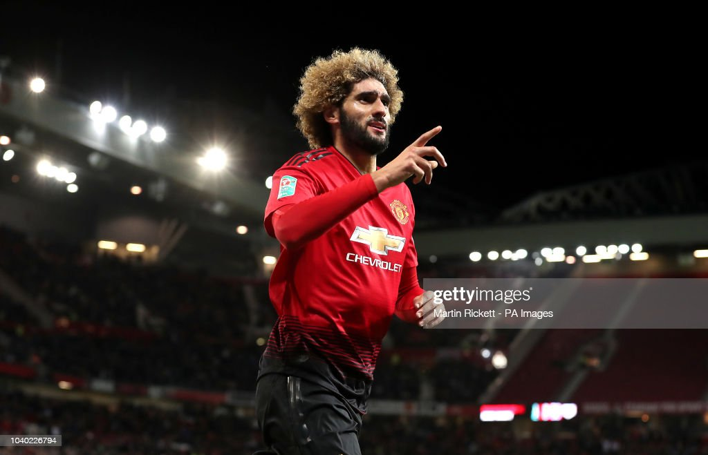 Manchester United v Derby County - Carabao Cup - Third Round - Old Trafford : News Photo