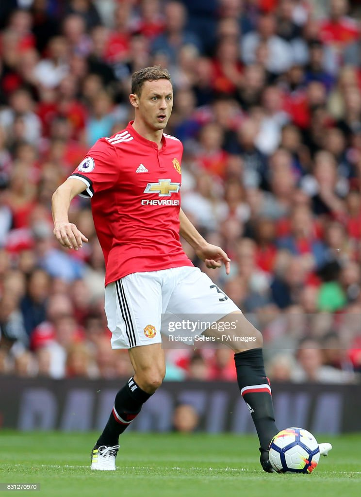 Manchester United's Nemanja Matic during the Premier League match at Old Trafford, Manchester.