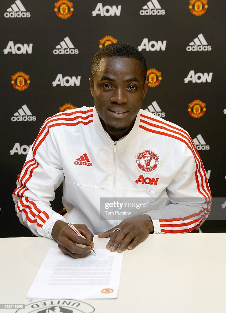 Manchester United Unveil New Signing Eric Bailly : News Photo