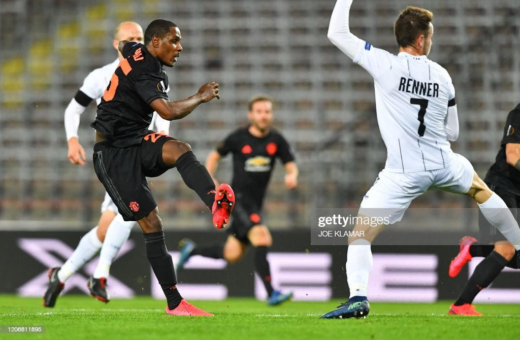 FBL-EUR-C3-LASK-MAN UTD : News Photo