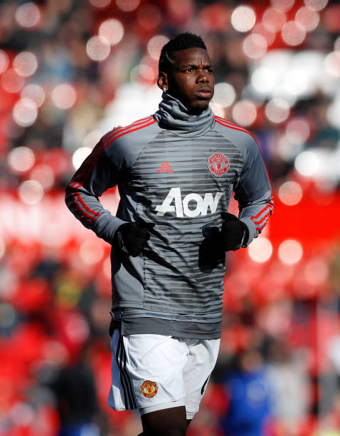 ddfd4e3e7db Manchester United s Paul Pogba during the warm up before the Premier League  match at Old Trafford