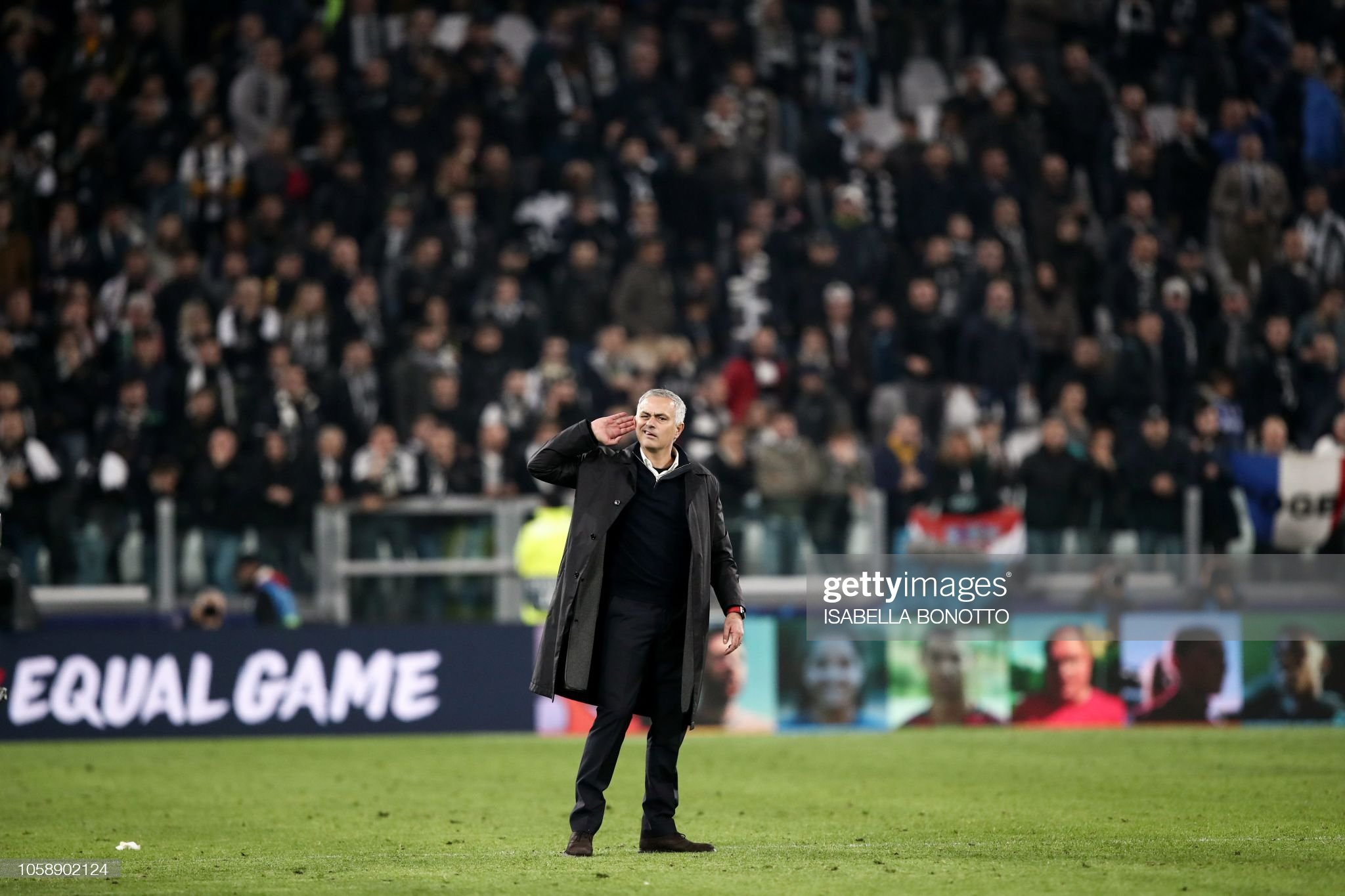 FBL-EUR-C1-JUVENTUS-MAN UTD : News Photo