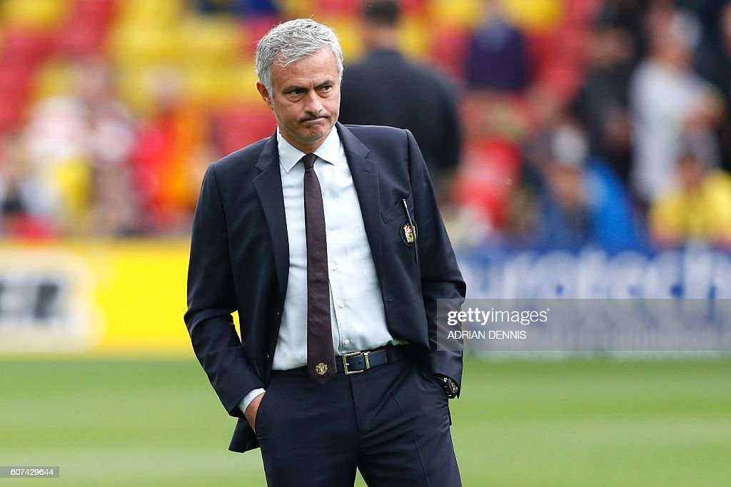 FBL-ENG-PR-WATFORD-MAN UTD : News Photo