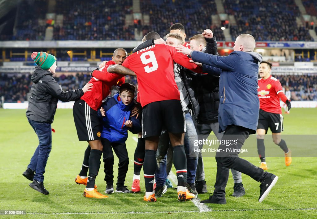 Huddersfield Town v Manchester United - Emirates FA Cup - Fifth Round - John Smith's Stadium : News Photo