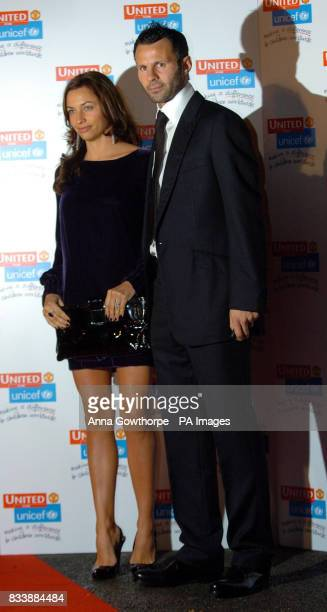 Manchester United's Ryan Giggs and his wife Stacey Cooke arrive for the 'United for UNICEF' Gala Dinner at Old Trafford Manchester