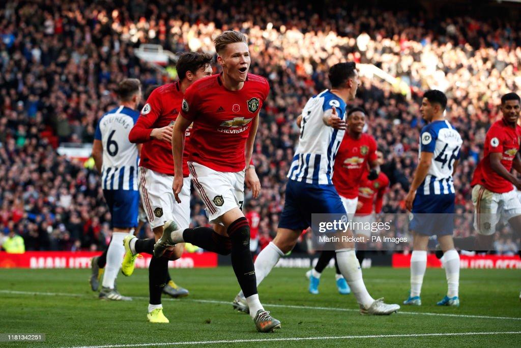 Manchester United v Brighton and Hove Albion - Premier League - Old Trafford : News Photo