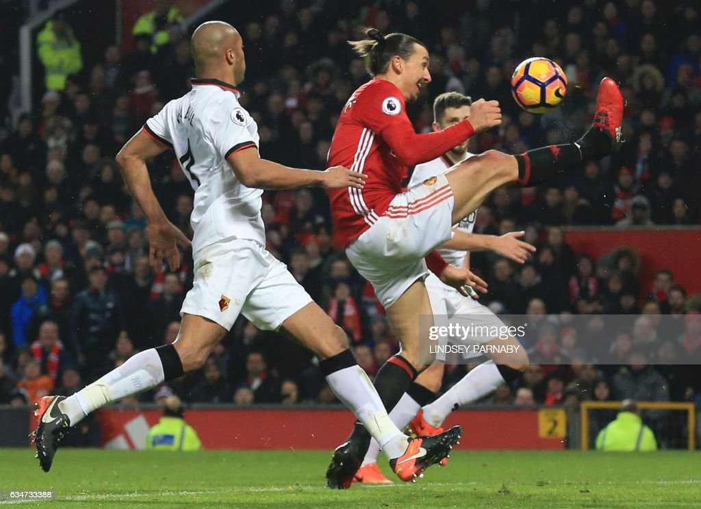 FBL-ENG-PR-MAN UTD-WATFORD : News Photo