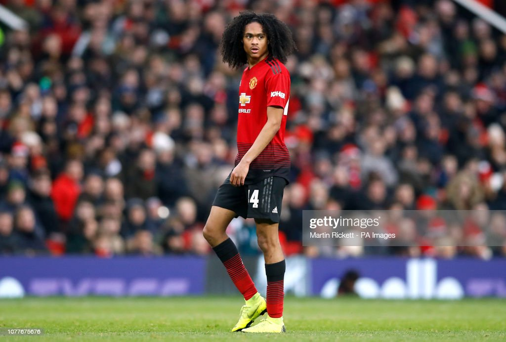 Manchester United v Reading - Emirates FA Cup - Third Round - Old Trafford : News Photo