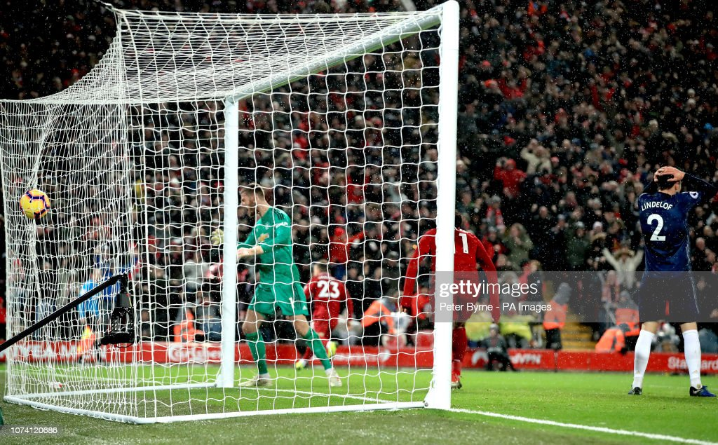Liverpool v Manchester United - Premier League - Anfield : News Photo