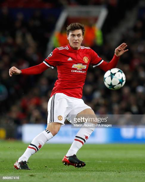 Manchester United's Victor Lindelof during the UEFA Champions League match at Old Trafford Manchester PRESS ASSOCIATION Photo Picture date Tuesday...