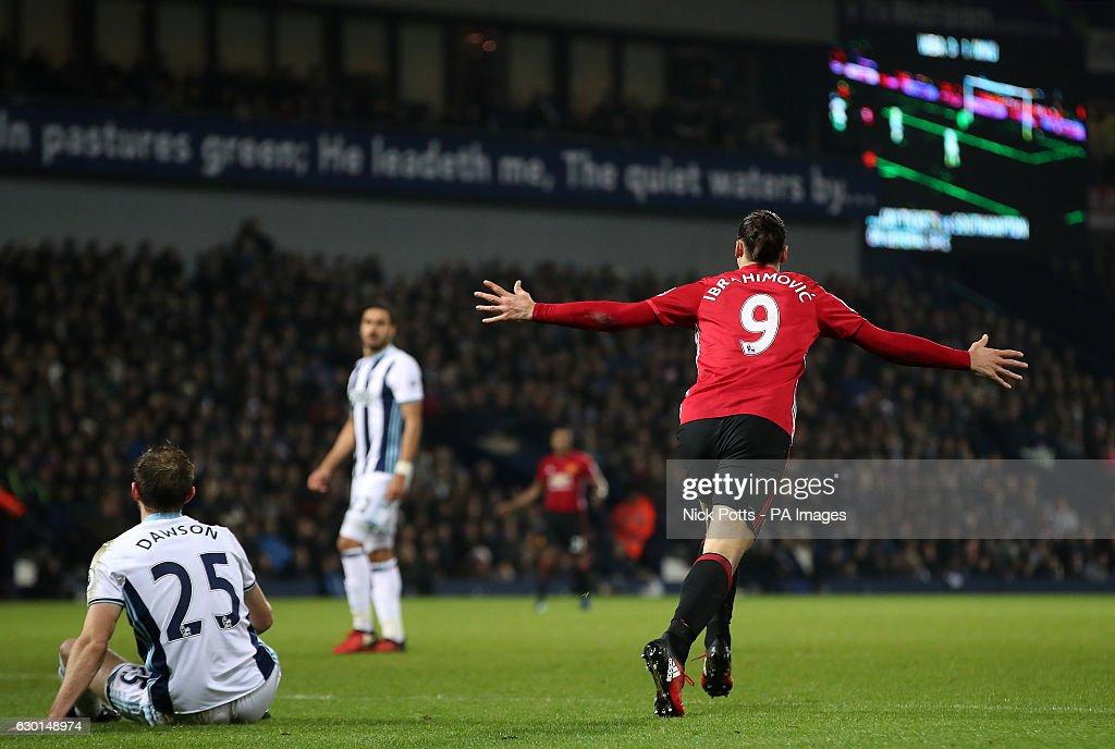 West Bromwich Albion v Manchester United - Premier League - The Hawthorns : News Photo