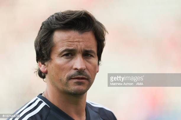 Manchester Untied Assistant manager Rui Faria during to the friendly fixture between LA Galaxy and Manchester United at StubHub Center on July 15...