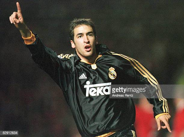 LEAGUE 99/00 Manchester/ENG MANCHESTER UNITED REAL MADRID 23 JUBEL RAUL/MADRID