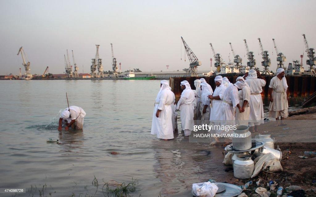 IRAQ-RELIGION-MANDAEAN : Photo d'actualité