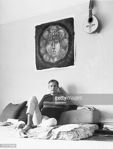5/28/1966 A mandala of the Earth Mother a mattress and cushions resting on the floor and used instead of a chair couch or bed these are all parts of...