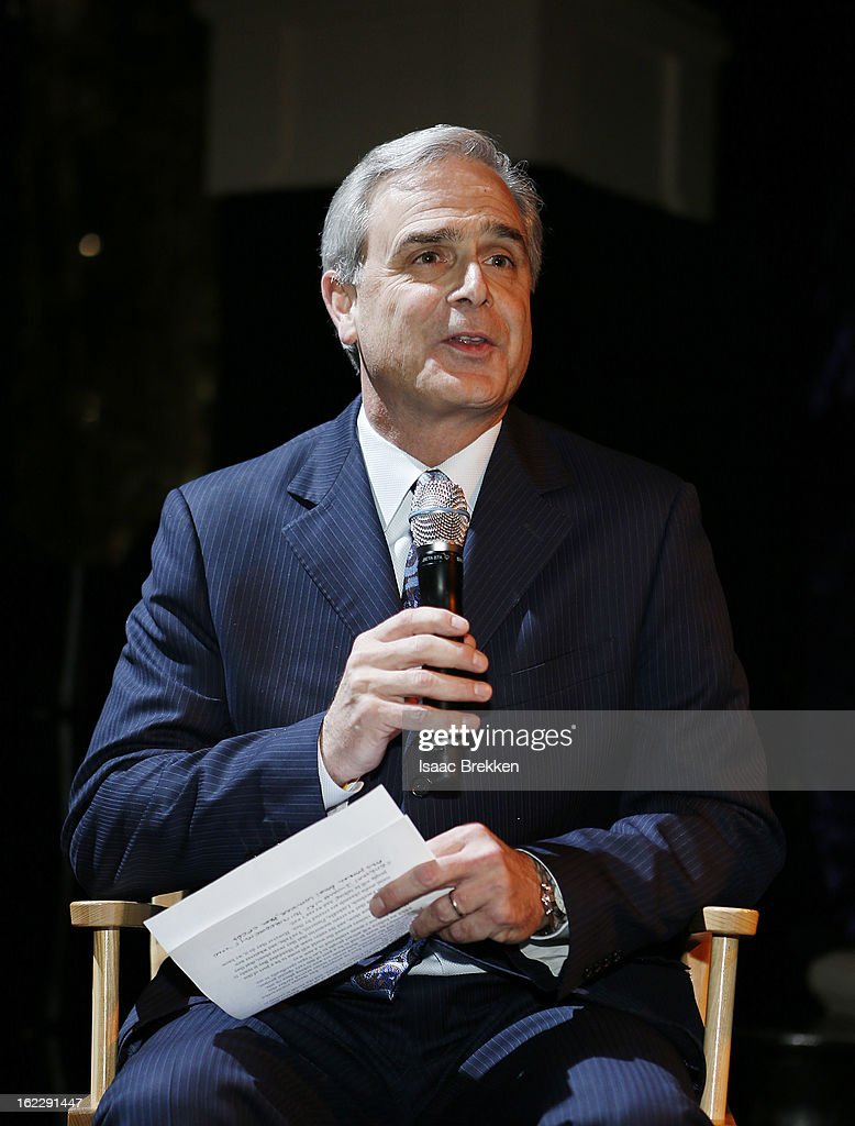 Mandalay Bay Resort & Casino President and Chief Executive Officer Chuck Bowling speaks during a news conference announcing Cirque du Soleil's 'Michael Jackson ONE' at the Mandalay Bay Resort & Casino on February 21, 2013 in Las Vegas, Nevada.