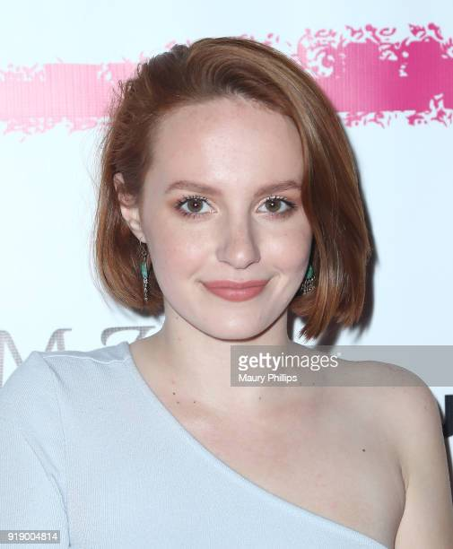 Mandalynn Carlson attends the 2018 Beauty The Beats Celebrity Party and Panel Discussion at Dream Magic Studios on February 15 2018 in Canoga Park...