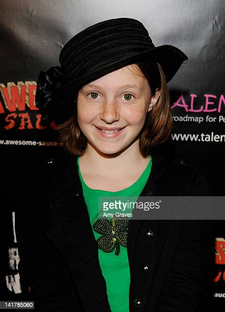 Mandalynn Carlson attends the Shamrock and Roll Concert for St. Jude's Children's Hospital on March 17, 2012 in Los Angeles, California.