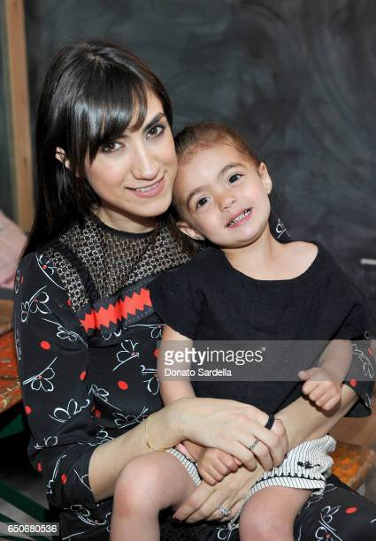 Mandana Dayani and Anderson Traugott attend Little Marc Jacobs Celebration benefitting Baby2Baby on March 9 2017 in Los Angeles California