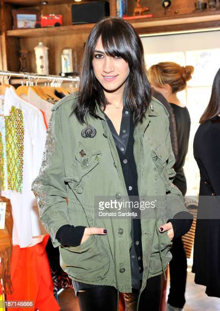 Mandana Dayani attends FIGUE Lunch LA at The Bungalow on November 6 2013 in Santa Monica California