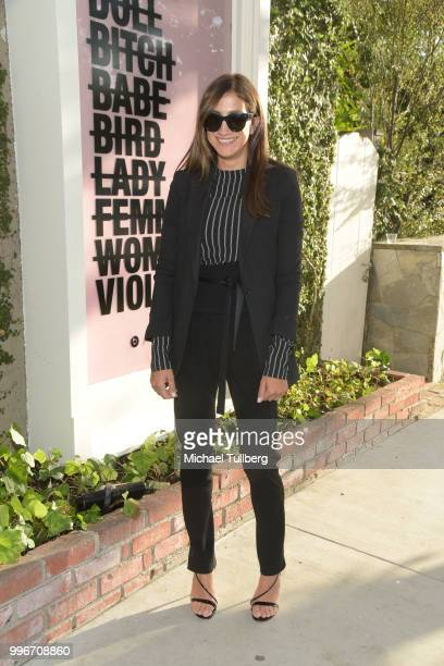 Mandana Dayani attends the Beats By Dre for Violet Grey party on July 11 2018 in West Hollywood California