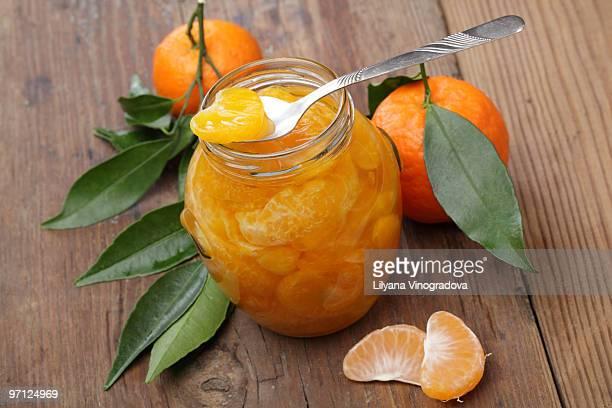 Mandarin orange jam